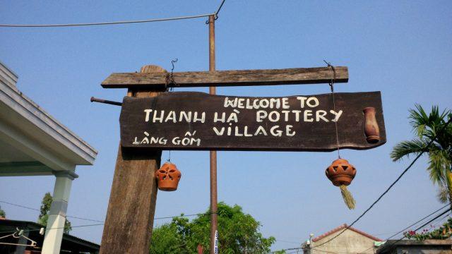 bản đồ du lịch hội an tại làng gốm thanh hà