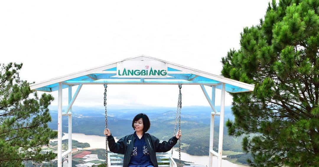 Đỉnh núi Langbiang Đà Lạt