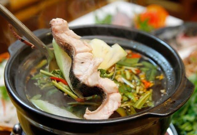 Món lẩu cá đuối Vũng Tàu ngon