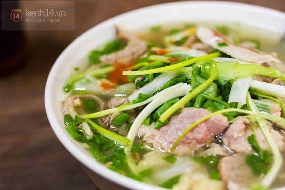 Phở Bát Đàn - địa chỉ phở ngon nổi tiếng nhất Hà Nội