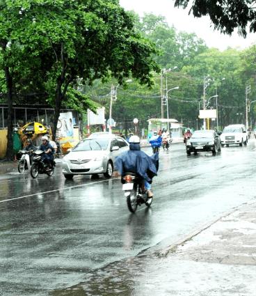 Sài Gòn trong những cơn mưa (Ảnh ST)