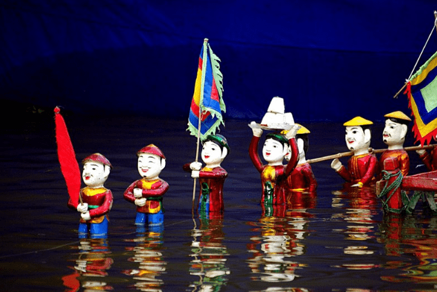 Nghệ thuật múa rối nước (Ảnh ST)