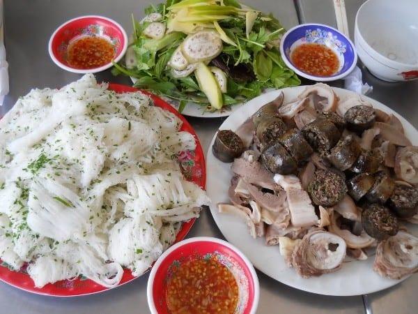 Món ăn đặc sản của Tuy Hòa (Ảnh: ST)