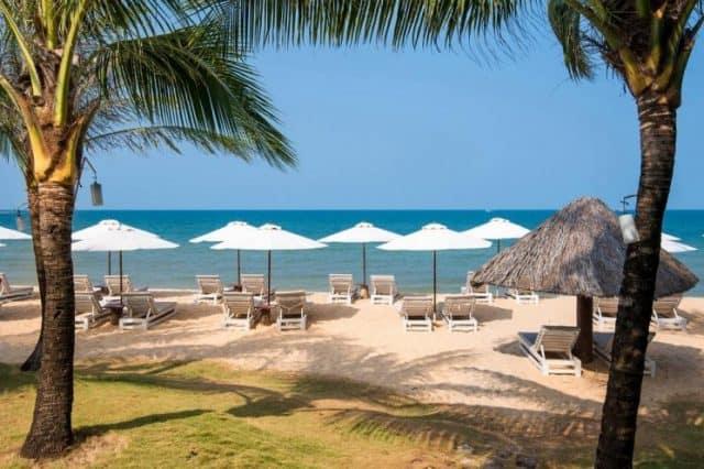 Có nhiều khu nghỉ dưỡng phục vụ khách du lịch