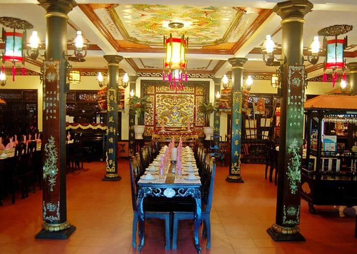Nhà hàng cung đình Huế - một trong những nhà hàng ngon ở Huế