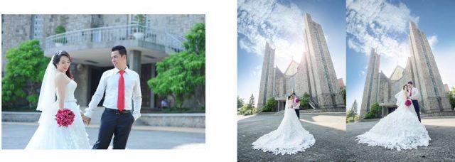 Nhà thờ Phủ Cam - địa điểm chụp ảnh cưới tại Huế