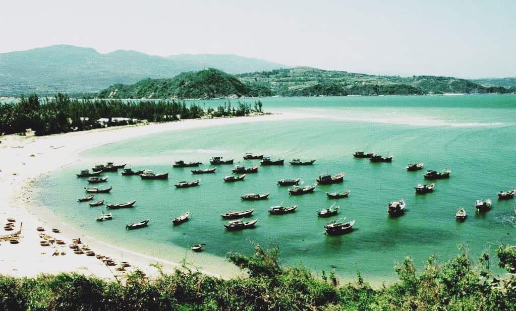 Khung cảnh hoang sơ mang tên Ninh Vân (Ảnh: ST)