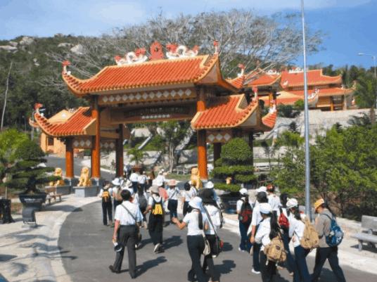 Núi Ninh Đàm - Địa điểm vui chơi tại Long Hải