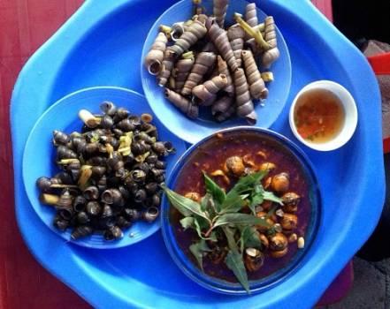 Ốc hút chùa - đặc sản Thanh Hóa