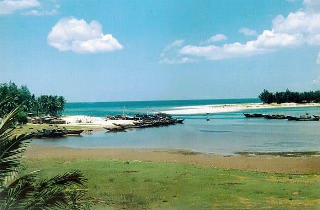 Bãi biển Cửa Tùng Quảng Trị - bãi tắm an toàn cho du khách