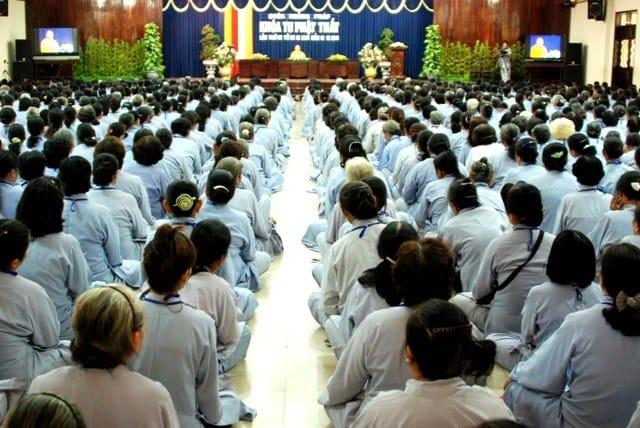 Khóa tu Phật thất trong 7 ngày 7 đêm