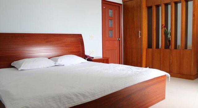 Phòng ngủ thoáng mát, rộng rãi