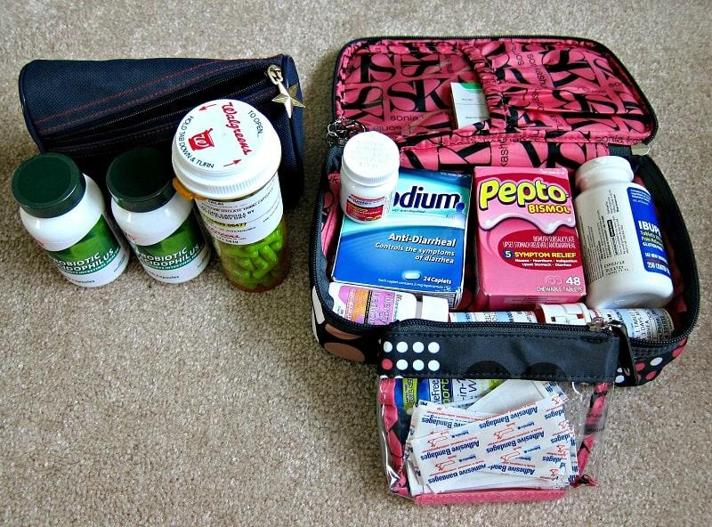 Chuẩn bị thuốc cho những bệnh thông thường trước chuyến đi