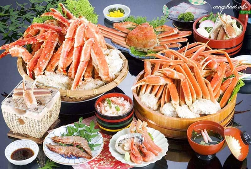 Thưởng thức hải sản tươi ngon bậc nhất
