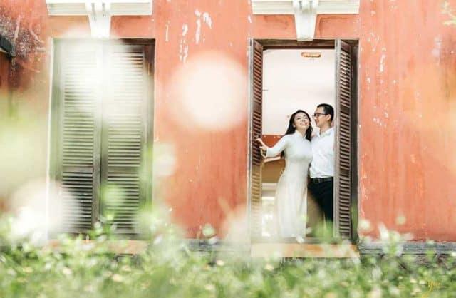 Quốc học Huế - địa điểm chụp ảnh cưới tại Huế 02