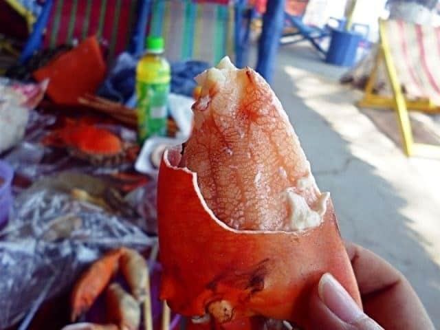 Món hải sản ngon tại Chợ Hàng Dương