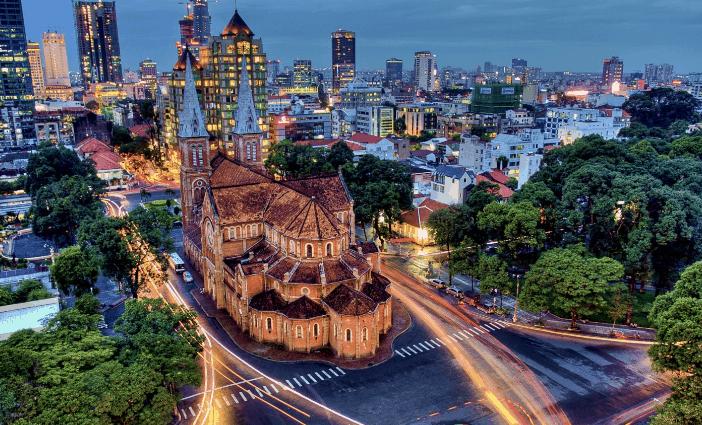 Nhà thờ Đức Bà -Sài Gòn (Ảnh ST)