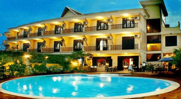 Tại biển tân thành có nhiều khách sạn có dịch vụ tốt