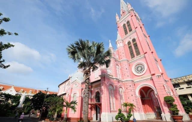 Hình ảnh nhà thờ Tân Định Sài Gòn