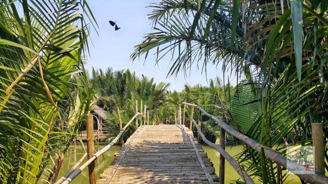 rừng rừa bảy mẫu hội an với những chiếc cầu đẹp