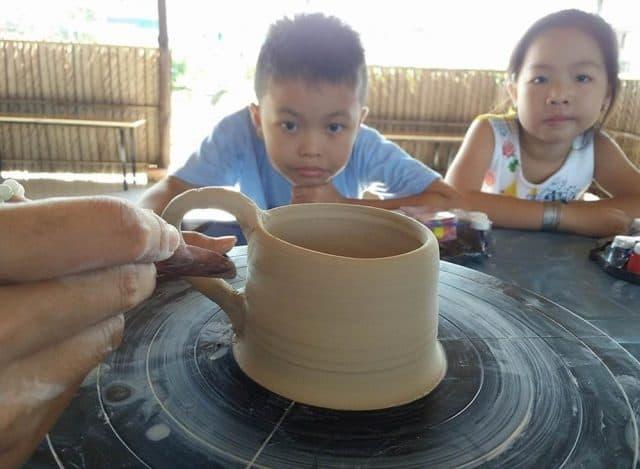 Học làm gốm tại The BCR Farm