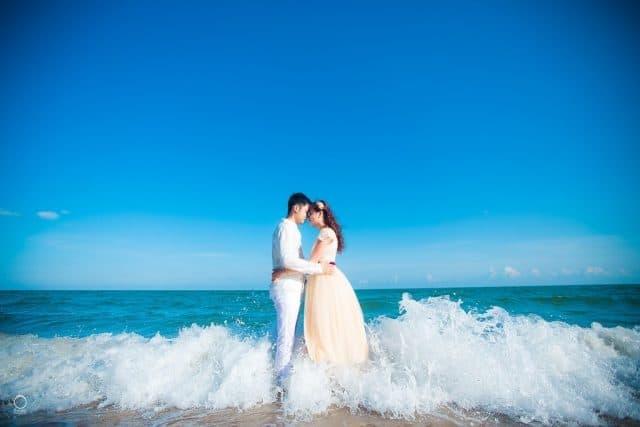 Bãi biển Thuận An - địa điểm chụp ảnh cưới ở Huế