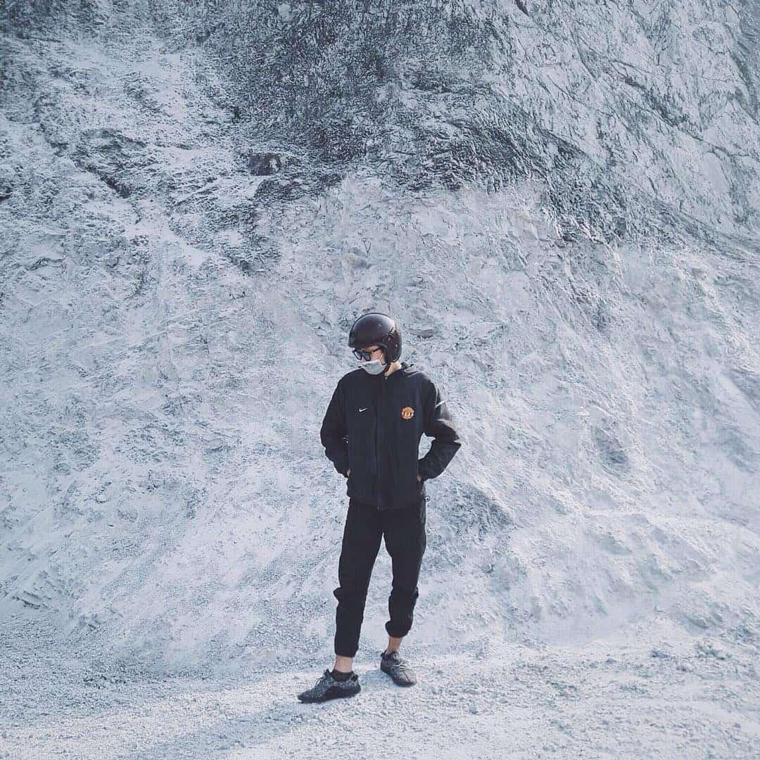 Những tảng đá trắng xóa ở đèo Thung Khe tạo ra những góc ảnh như ở châu Âu