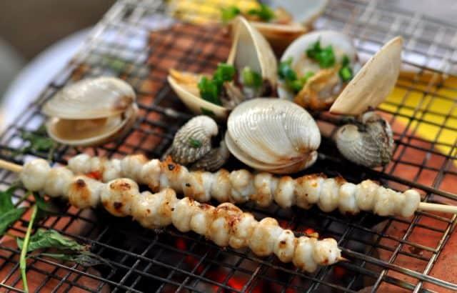 Hải sản ở biển Thuận An