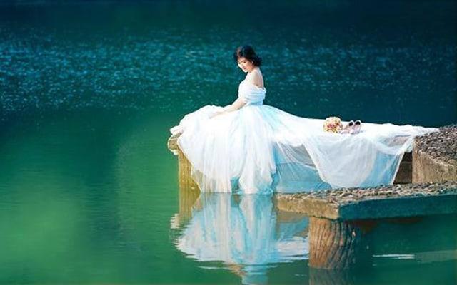 Hồ Thủy Tiên - địa điểm chụp ảnh cưới tại Huế 01