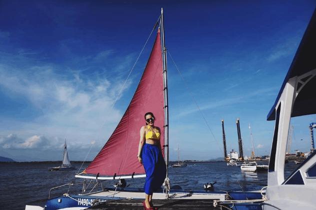 Bạn trẻ rất thích tới bến du thuyền Marina chụp ảnh (Ảnh ST)