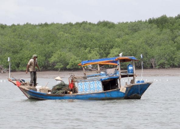 Cuộc sống của người dân trên xã đảo Thạnh An (Ảnh ST)