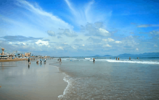 Vẻ đẹp của biển Long Hải (Ảnh ST)
