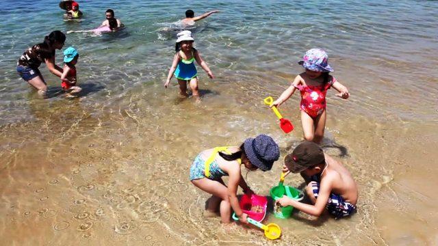 Vui chơi trên bãi biển