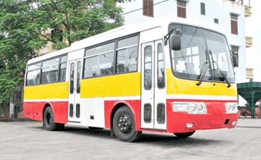 Bạn có thể sử dụng xe bus để tới Cần Giờ (Ảnh ST)