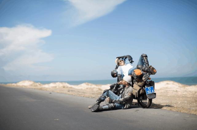 Xe máy là phương tiện bạn có thể sử dụng để tới Cần Giờ (Ảnh ST)