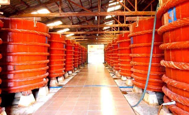 Nước mắm - đặc sản Quảng Trị