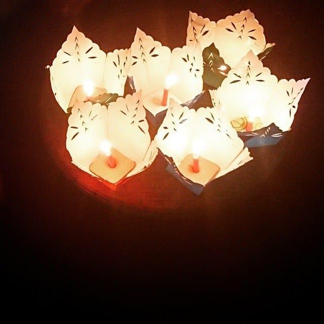Vẻ đẹp của lễ hội thả đèn hoa đăng (Ảnh ST)