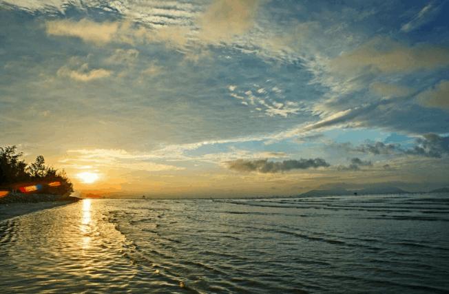 Biển Cần Giờ cách TPHCM bao nhiêu km? (ảnh sưu tầm)