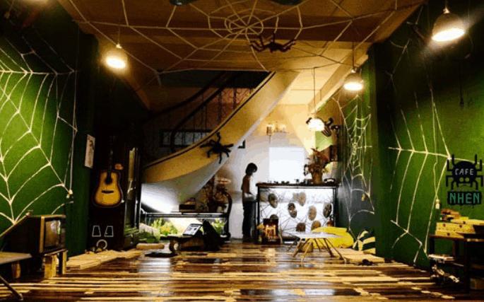 quán décor Halloween ở Sài Gòn