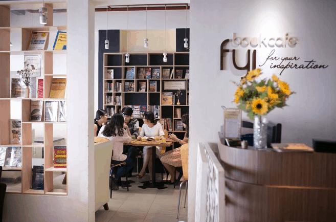 quán cafe sách đẹp ở sài gòn