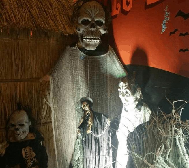 Một trong các quán décor Halloween ở Sài Gòn (ảnh sưu tầm)