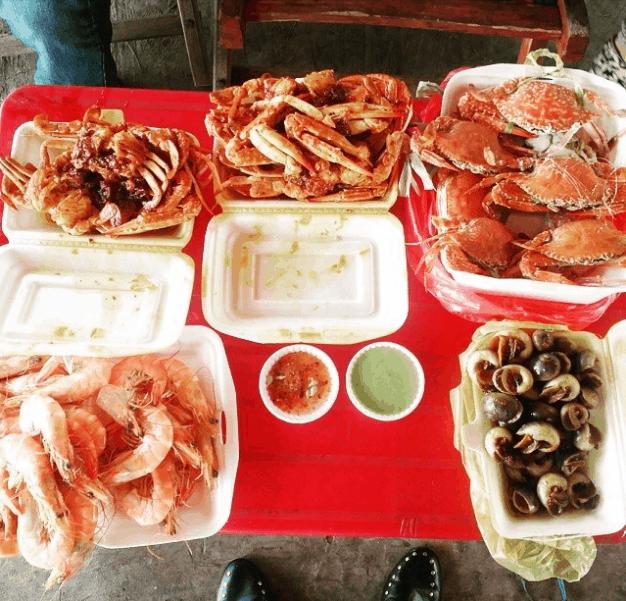 Vựa hải sản Cần Giờ (ảnh sưu tầm)