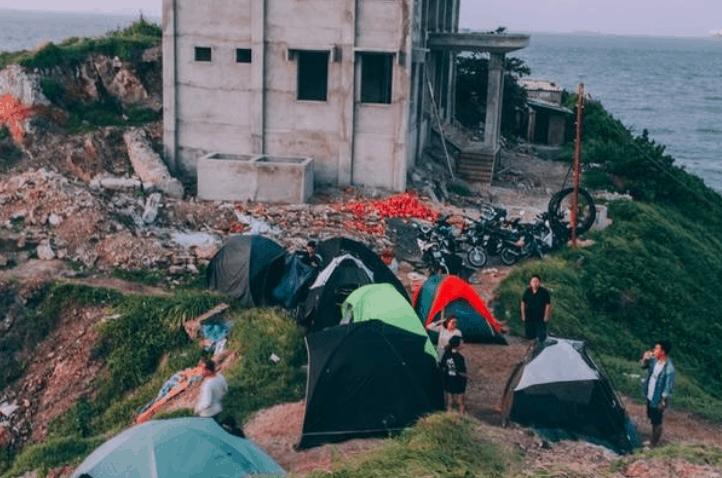 Cổng trời Vũng Tàu là địa điểm cắm trại cực đẹp (ảnh sưu tầm)