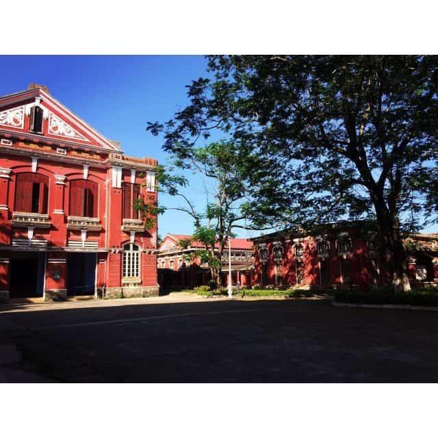 Một góc Trường Quốc học Huế
