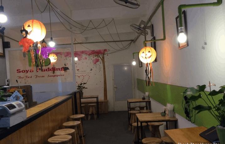 Đây là quán décor Halloween ở Sài Gòn dành cho các bạn thích món pudding (ảnh sưu tầm)