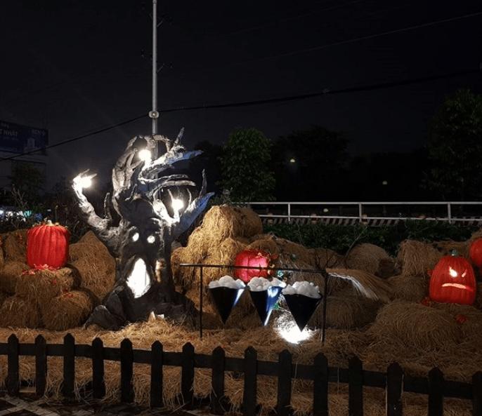 Chơi Halloween ở Sài Gòn (ảnh sưu tầm)
