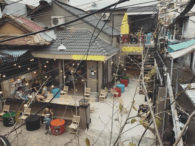 quán cà phê độc lạ tphcm