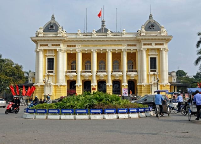 Diện mạo mới của nhà hát lớn Hà Nội
