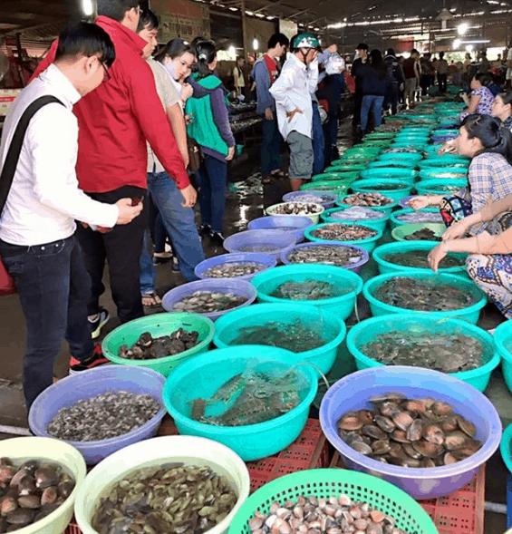 Chợ Cần Giờ Cần Thạnh Hồ Chí Minh (ảnh sưu tầm)