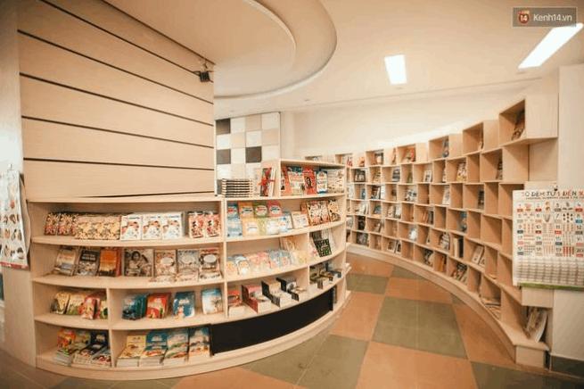 Quán cafe sách giá rẻ tphcm (ảnh sưu tầm)